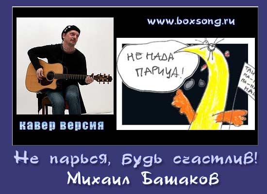 """Михаил Башаков - кавер версия """"не парься"""""""